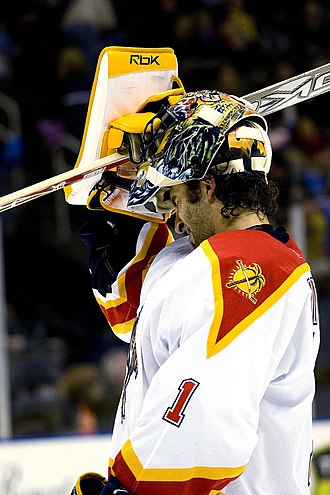 "Roberto Luongo - Luongo has always worn the number ""1"" in the NHL."