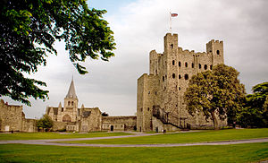 John de Warenne, 6th Earl of Surrey - Rochester Castle (circa. 2010), where Warenne was besieged by de Montfort in 1264