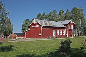 Rödåsel - Image: Rodasel bygdegarden juli 2013
