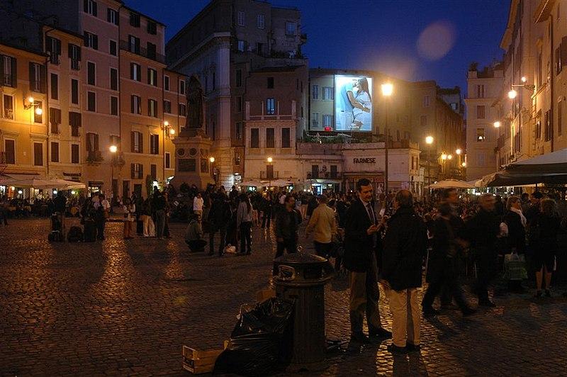 Para onde sair à noite em Roma