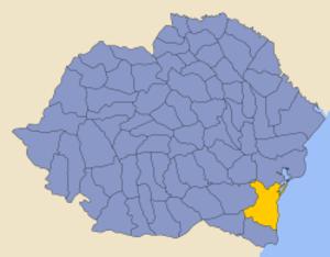 Constanța County - Image: Romania 1930 county Constanta