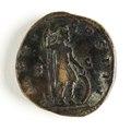 Romerskt bronsmynt, guden mars, 171-172 - Skoklosters slott - 110680.tif