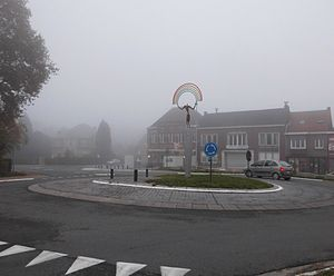 Melle, Belgium - Image: Rondpunt Melle