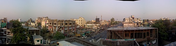 Rooftop view of Umred Road, Nagpur - panoramio.jpg