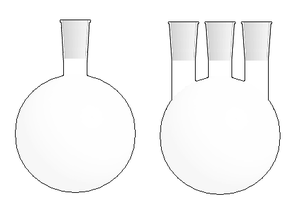 Laboratory flask - Image: Round bottom flasks