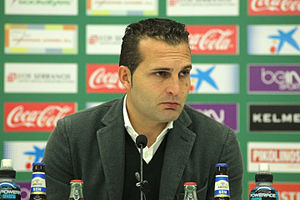 Rubén Baraja - Baraja as manager of Elche in 2016