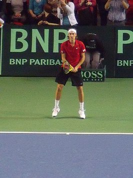 Ruben Bemelmans on the Davis Cup 2011.jpg