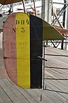 Rudder of Airco DH4 'No5' (34959125436).jpg