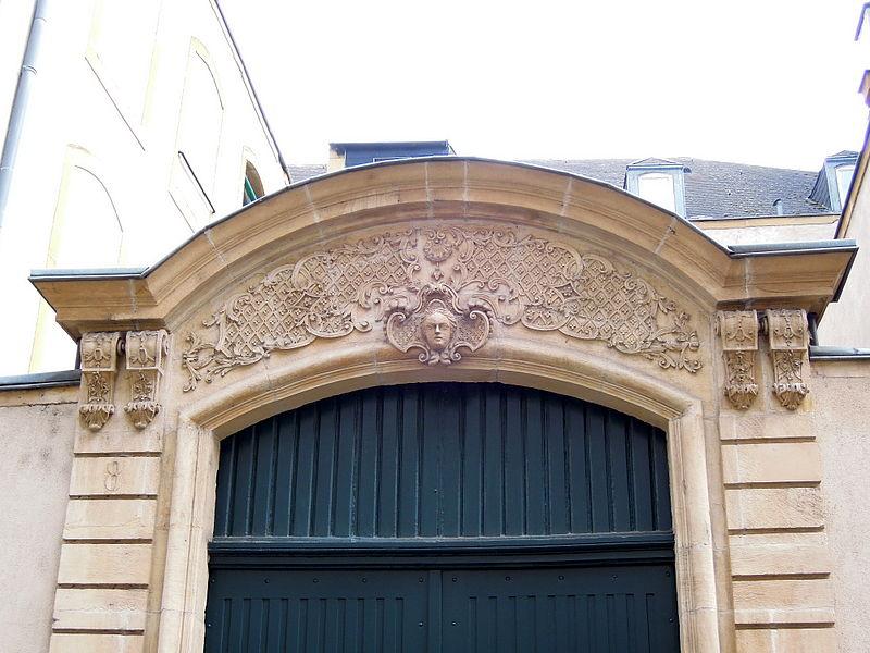 Maison, 8 rue de la Haye (Inscrit, 1930) Détail.