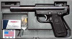 Ruger .22 caliber target pistol