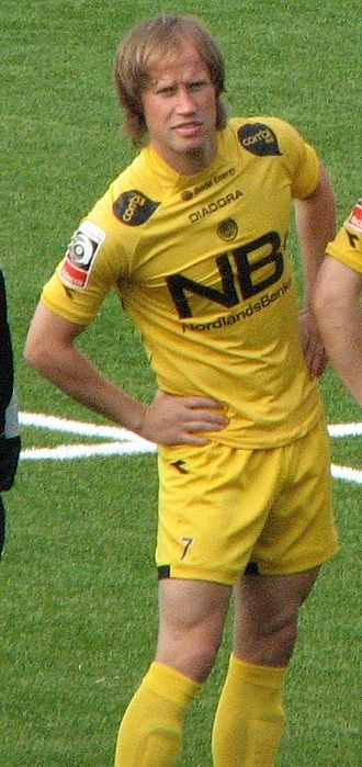 FK Bodø/Glimt - Runar Berg was until 2010 a midfielder and key player for the team, with almost 500 matches played for Bodø/Glimt.