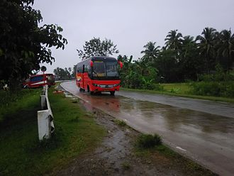 Rural Transit of Mindanao - A Rural Transit 9202 heading to Pagadian. Her number, 9202 indicates the prefix number 9, which is assigned for Pagadian Base.