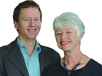 New Zealand general election, 2008 - Image: Russel Norman and Jeanette Fitzsimons