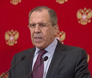 Russian Foreign Minister Lavrov Addresses Reporters During a Joint News Conference With Secretary Kerry in Moscow (25410225424).jpg