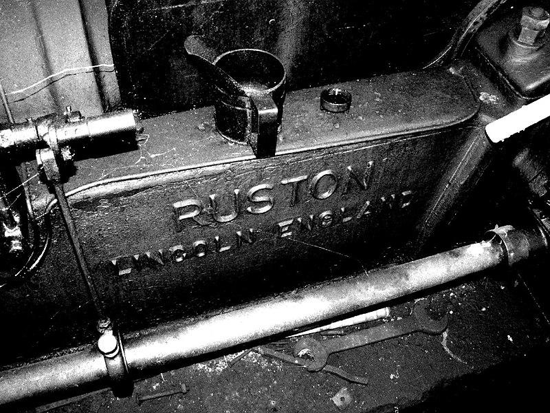 Ruston & Hornsby Diesel Engine St Bernard windmill Flanders