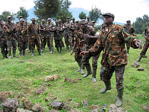 "Original caption states, ""Rwanda: Soldier..."