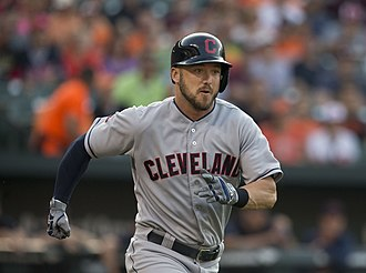 Ryan Raburn - Raburn playing for the Cleveland Indians in 2015