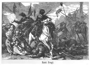 Russian Partition - The Massacre of Praga (now a district of Warsaw), April 1794
