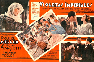S. Bianchetti 1932 Violettes impériales Film poster.png