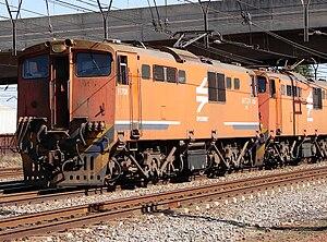 South African Class 6E1, Series 6 - No. E1708 at Kaalfontein, Gauteng, 8 October 2009