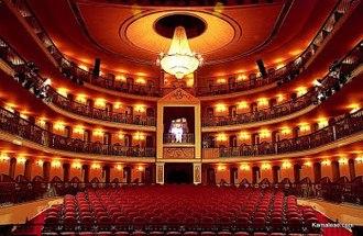 São Luís, Maranhão - Theater Artur Azevedo in São Luís.