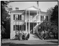 SOUTH (FRONT) ELEVATION - Thomas Fuller House, 1211 Bay Street, Beaufort, Beaufort County, SC HABS SC,7-BEAUF,2-6.tif