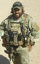 SSgt Robert Gutierrez in Afghanistan