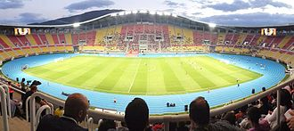 2017 UEFA Super Cup - The Philip II Arena in Skopje hosted the match.