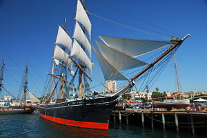 Star of India (ship) - Star of India docked in San Diego
