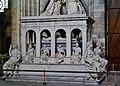Saint-Denis Basilique Saint-Denis Innen Monument für Louis XII & Anne de Bretagne 2.jpg