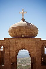 Saint Matthew Monastery (Der Mar Matti), overlooking Bashiqa and Bartella, between the Kurdistan Region and Iraq 22.jpg