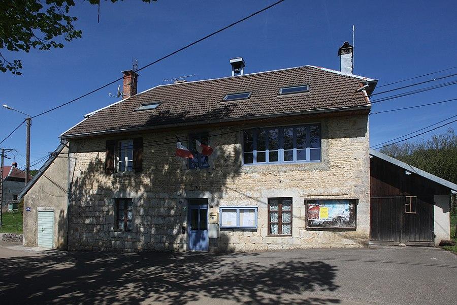 Mairie de Sainte-Anne (Doubs).