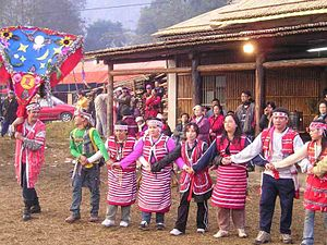 Pas-ta'ai - Pastaai  (Pas-ta'ai) ceremonies in Nanzhuang, Miaoli, Taiwan