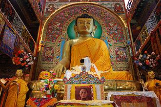 Tawang - Image: Sakyamuni Buddha