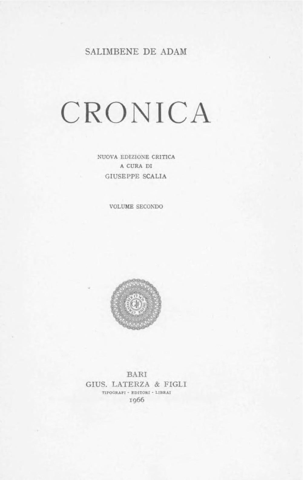 Filesalimbene De Adam Cronica Vol Ii 1966 Beic 1913630pdf Original File Svg Nominally 573 X 444 Pixels Size 1586