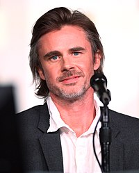Sam Trammell vid San Diego Comic-Con International 2012.