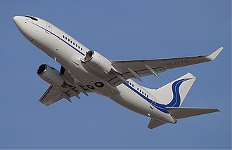 Business aircraft - A Boeing BBJ operated by Samsung