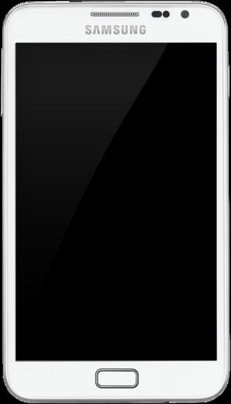 Samsung Galaxy Note (original) - Samsung Galaxy Note in White