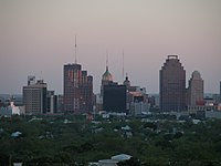 San Antonio, Texas skyline from north.jpg
