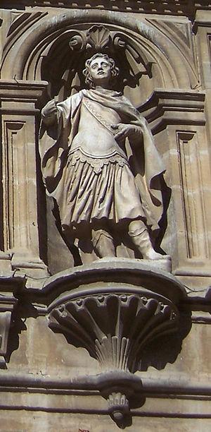 Emeterius and Celedonius - Image: San Celedonio Catedral de Santo Domingo de la Calzada