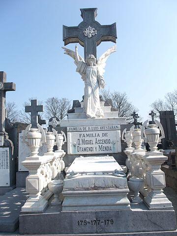 proporcionar una gran selección de En liquidación Calidad superior File:San Sebastián (Guipúzcoa)-Cementerio de Polloe-3.jpg ...