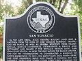 San Ygnacio Historic Marker IMG 3134.JPG