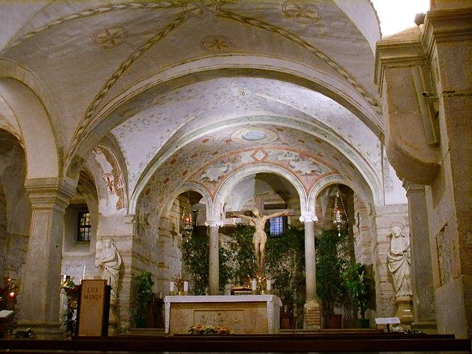 San fermo, verona, chiesa inferiore 03
