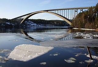 Sandö Bridge bridge in Sweden