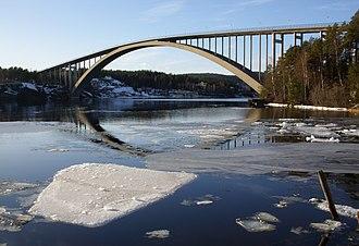 1943 in architecture - Sandö Bridge
