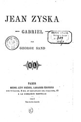 George Sand: Jean Ziska
