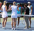 Sania Mirza and Yaroslava Shvedova (5995432117).jpg