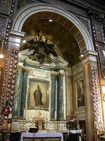 Sant'Andrea delle Fratte, Cappella della Madon...