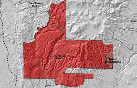 Santa Fe National Forest Jemez District