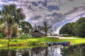 Essequibo Islands-West Demerara - Image: Santa Mission panoramio